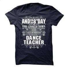 God Created Dance Teacher - #t shirt designer #cool tshirt designs. PURCHASE NOW => https://www.sunfrog.com/LifeStyle/God-Created-Dance-Teacher.html?60505