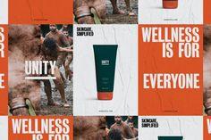 Unity — Bruce Mau Design Sistema Visual, Bruce Mau, Skincare Branding, Emotional Connection, Visual Identity, Layout Design, Unity, Design Inspiration, Packaging
