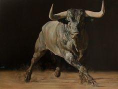 Majestic Animals, Animals Beautiful, Bull Pictures, Arte Equina, Bull Painting, Bull Tattoos, Gado, Bull Riding, Rind