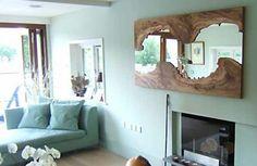 möbel massivholz massivmöbel naturholz design wandspiegel
