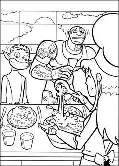 Teen Titans Målarbilder för barn. Teckningar online till skriv ut. Nº 35