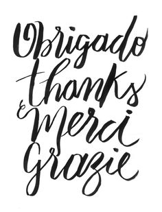 AGRADECER » Tipografia More Than Words, Some Words, Frases Humor, Magic Words, Typography Quotes, Quote Posters, Sentences, Me Quotes, Verses