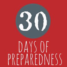 A matter of preparedness: It's a Matter of......Emergency Kits.  #30daysofprep