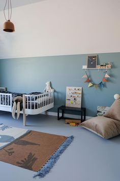 Boy Toddler Bedroom, Baby Boy Nursery Decor, Toddler Rooms, Baby Boy Rooms, Nursery Room, Kids Bedroom, Oval Room Blue, Blue Rooms, Blue Bedroom