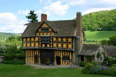 Stokesay Castle, Shropshire ~ built by a wealthy wool merchant near the end of the 13th century along the border with the unsettled Welsh Marches.