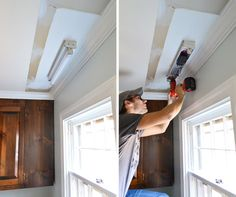 ideas for replacing fluorescent lighting boxes | box, kitchens and