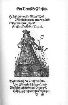 Frauen-Trachtenbuch 006.jpg A German Furstin.