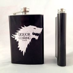 Game Of Thrones Inspired Flask  get it here http://shutupandtakemymoney.com/30oi