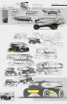 Mercedes-Benz ACROSS internship project on Behance Car Design Sketch, Truck Design, Bike Design, Layout Design, Mercedes Benz, Industrial Design Sketch, Presentation Layout, Automotive Photography, Futuristic Cars