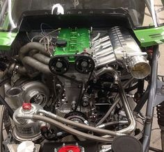 Awesome looking B234 race engine build