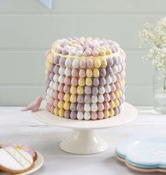 How to Make a Mini Easter Egg Cake #Easter #Baking