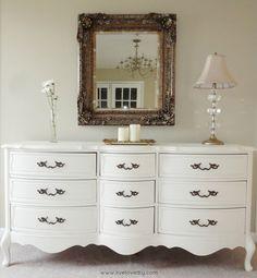 Love this dresser redo