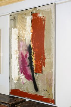 Jorgen Larsen ; 1992...6'7 x 4'2' Art & Painting   Scandinavian Antiques & Living