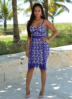 Chic Couture Online - Aubrey Royal-Blue Crochet Nude Midi Dress, (http://www.chiccoutureonline.com/aubrey-royal-blue-crochet-nude-midi-dress/)