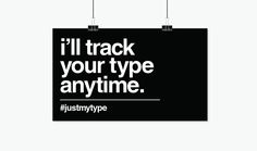 #justmytype on Behance