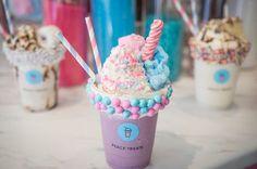 Serious Milkshake goals at Peace Treats Toronto