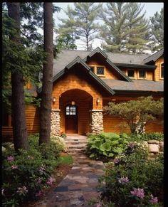 Log Homes!