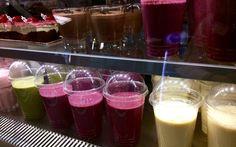 Smoothieta ja muuta hyvää Shop-Cafessa