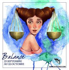 Horoscope du jour pour Balance #astro #astrologie #amour #horoscope #voyance #balance