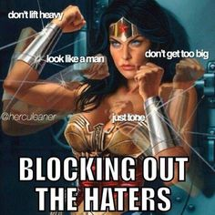 Who I'm trying to be! #wonderwoman