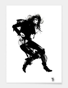 "Curioos.com | ""The Black Remains"" by Michael Zagorski Limited Edition  - Gallery Quality Art Print"