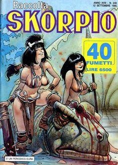 Fumetti EDITORIALE AUREA, Collana SKORPIO RACCOLTA n°249 - SEPTEMBRE 1995