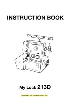 janome sewing machine repair manual