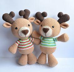 Ravelry: Amigurumi Reindeer Pattern pattern by Es un Mundo Amigurumi