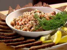 Add quail egg to Fresh Salmon Tartare recipe from Ina Garten via Food Network Salmon Salad Recipes, Fish Recipes, Seafood Recipes, Appetizer Recipes, Gourmet Recipes, Great Recipes, Cooking Recipes, Favorite Recipes, Healthy Recipes