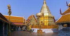 Chiang Mai - Wilde Natur, reiche Geschichte Die Stadt ist nicht nur Ausgangspunkt für Rundreisen durch Nordthailand, auch Chiang Mai selbst lockt mit zahlreichen buddhistischen Tempeln, exotischen Nachtmärkten und mehr. Wenn Sie mehr über die spannende Vergangenheit der Region erfahren und das vor der imposanten Kulisse der grünen Berge, dann wird Chiang Mai Sie verzaubern!