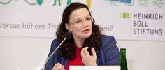 DERUWA: SATIRE: Arbeitsministerin Nahles fordert Rente bis...