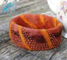 felt bracelet | Flickr - Photo Sharing!
