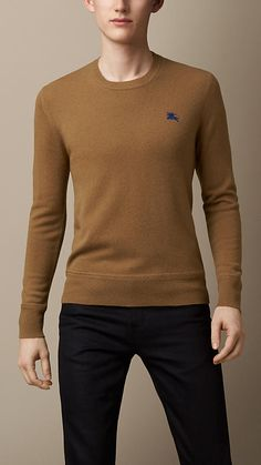 Heritage Detail Cashmere Sweater   Burberry Burberry Men, Burberry Prorsum,  Cashmere Sweaters, Men a4242022ef1