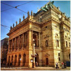 National theatre in PragueCzech Republic #theatre #national #art #architecture #statue #sculpture #design #praha #prague #prag #praga #iprague #cz #czech #czechia #czechrepublic #czechdesign #česko #české #českárepublika #DiscoverCZ #czdsgn #drama #comedy #history #heritage #2015