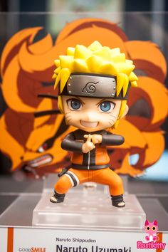 Naruto is such a ubiquitous force in the anime world, especially in the US, that I'm always a bit taken aback by the lack of figure merchandise. We basically have the MegaHouse figures and some minifigs, but a lot of lines that I feel would be very suitable (Nendoroids, figmas, etc) have gone woefully Naruto-less… that is, until GSC's announcement in July! And apparently they're moving along at a very rapid pace, because Nendoroid Naruto was sculpted and painted at NYCC. My brother is beyond…