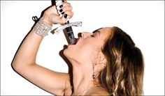 Jade Jagger (by Terry Richardson for Belvedere Vodka) Jade Jagger, Famous Photography, Famous Portraits, Terry Richardson, Vodka, Gold Diggers, Natural Beauty, Editorial, Advertising