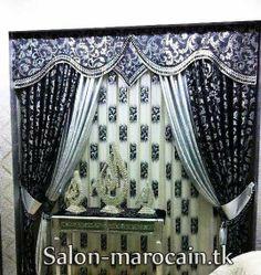 double rideau noir exceptionnel 2013 - Decoration Salon Moderne 2013 En Marron