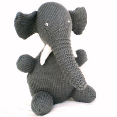 Elephant Toy - Folksy