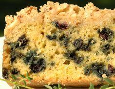 Maple Blueberry Coffee Cake #recipe