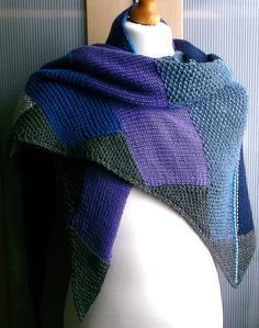 Ravelry: block-buster pattern by Brian smith Knit Cowl, Knitted Poncho, Knitted Shawls, Crochet Shawl, Knit Crochet, Knitting Patterns, Crochet Patterns, Poncho Shawl, Lace Knitting