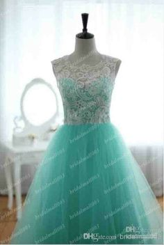 Pageant dresses teens 2014 A Line See Through Lace Hunter Crew Neckline Sleeveless s Floor Length Formal Evening Dresses Prom DressesTulle