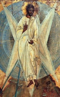 Theophanes the Greek ~ The Transfiguration of Jesus (detail), 1408
