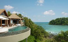 Cambodia isn't necessarily known for its beaches, but the pioneers behind an eco-conscious resort hope to change that. Song Saa sits on two islands off of Koh Rong (Cambodia's second largest island), and is an ideal complement to a week of sightseeing and temples.