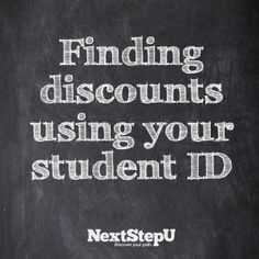List of student ID discounts & perks to watch for.
