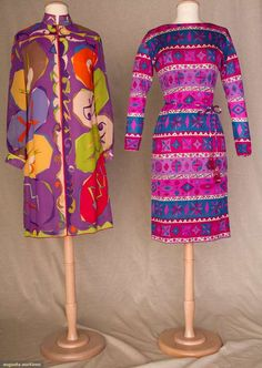 Two Printed Silk Pucci Dresses, 1965, Augusta Auctions, November 10, 2010 - St. Pauls - NYC, Lot 137