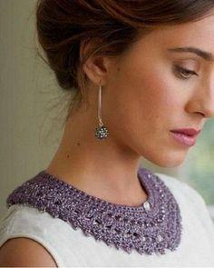 cuello patrón de crochet libre (11)