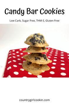 Sugar Free Treats, Sugar Free Cookies, Sugar Free Desserts, Sugar Free Recipes, Low Carb Desserts, Thm Recipes, Healthy Desserts, Cookie Recipes, Sugar Free Peanut Butter