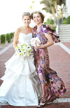 Mother's Day Wedding Love  lovely pic of mom and bride!