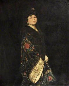 Eileen by Howard Somerville (1874-1952)