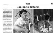 Entrevista de Sueldo Fernandes ao Jornal A Nova Democracia sobre show de Sueldo Fernandes em Cantante Romantico das Americas.